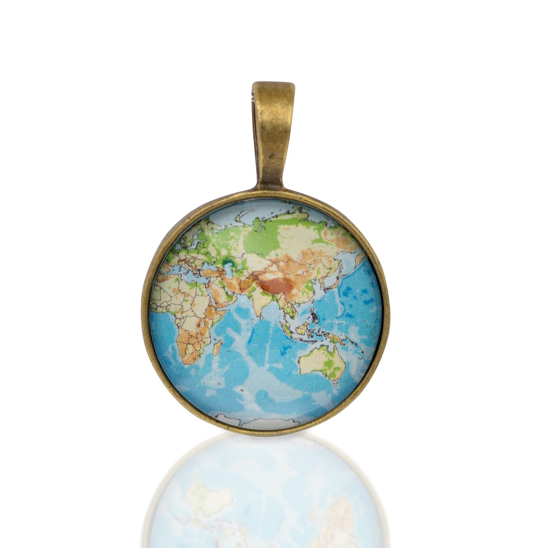 Kette Weltkarte