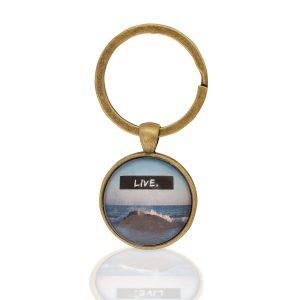 Schlüsselanhänger Meer Live
