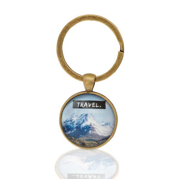 Schlüsselanhänger Travel Berge