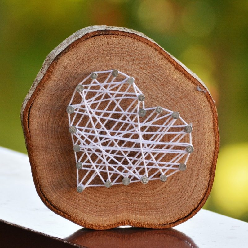 String Art Herz