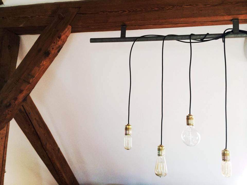 DIY Retro Lampen