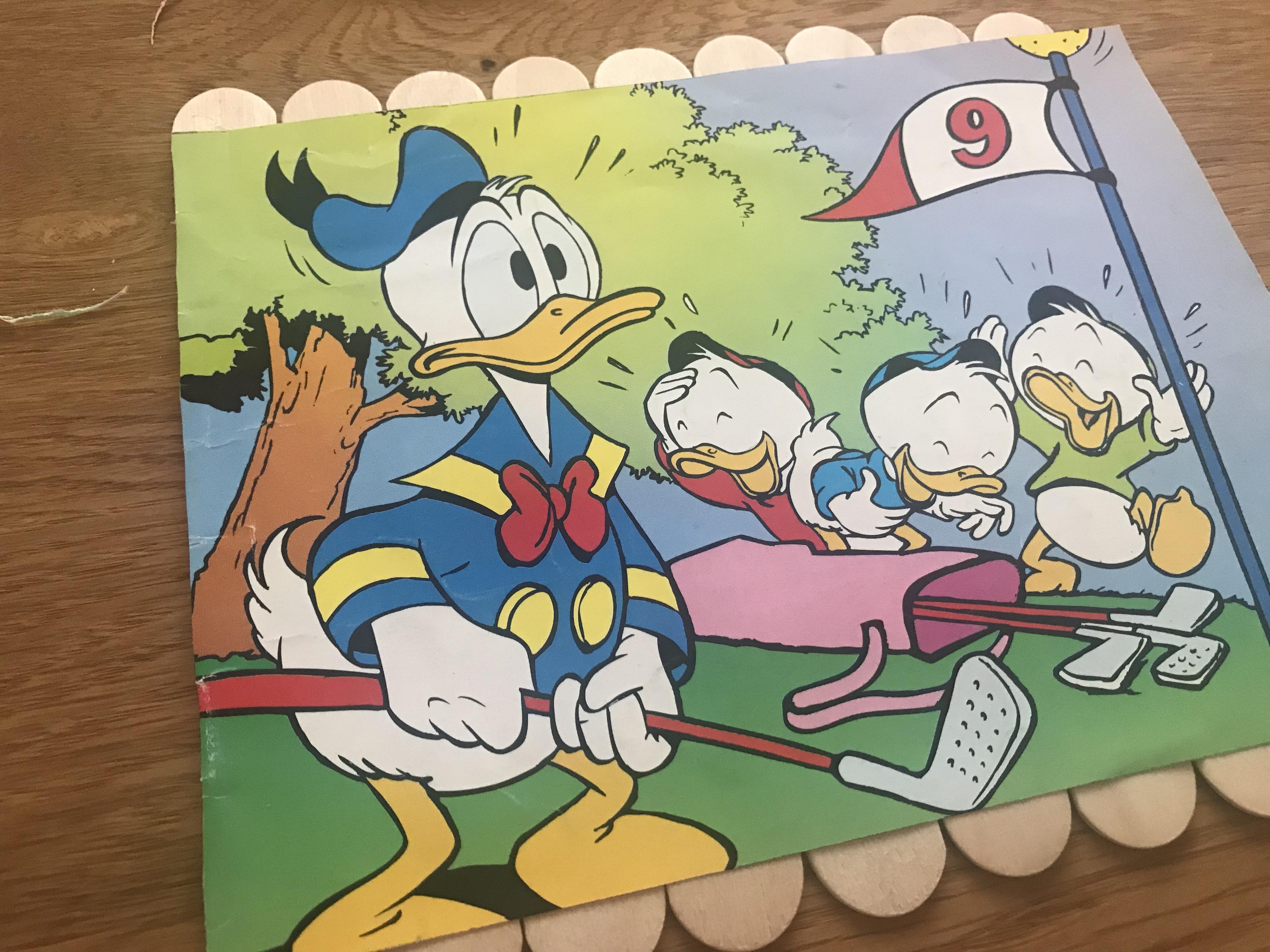 Kinderpuzzle aus Mundspatel