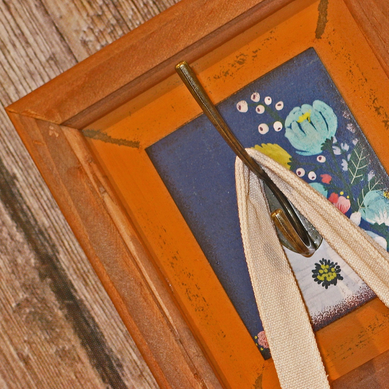 Bild als Garderobenhaken