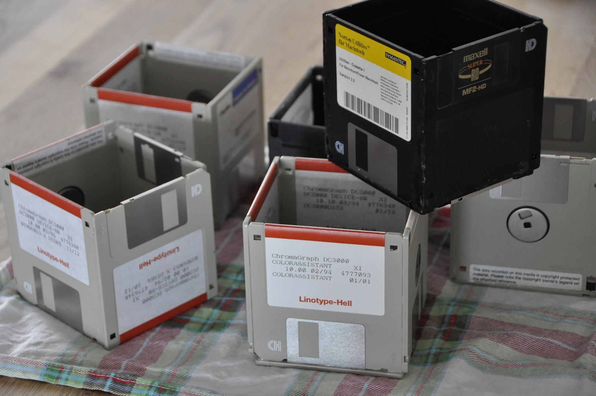 Disketten Box