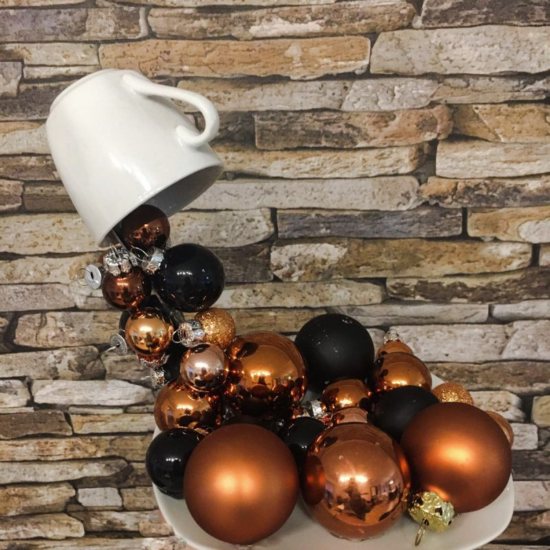 Weihnachtskugeln Dekoration