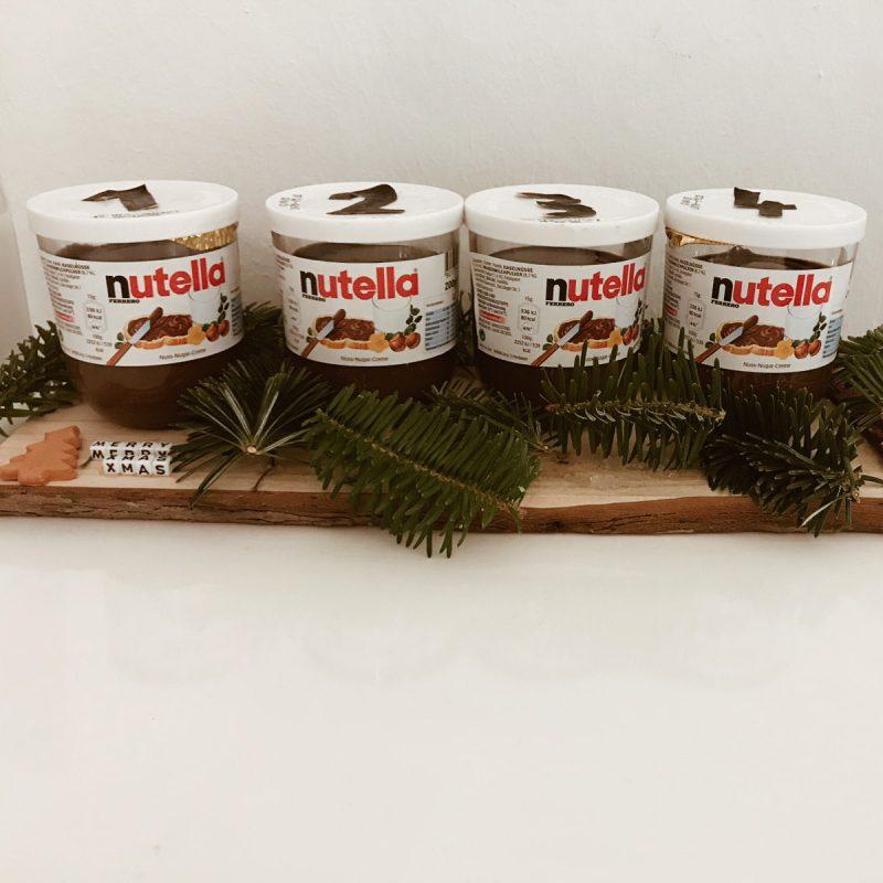 Nutella Adventkranz