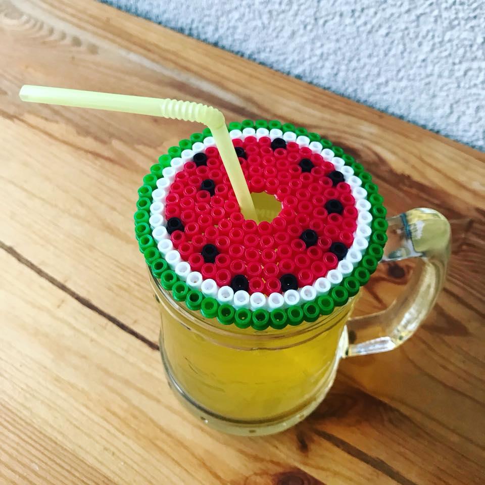 Bügelperlen Wassermelone