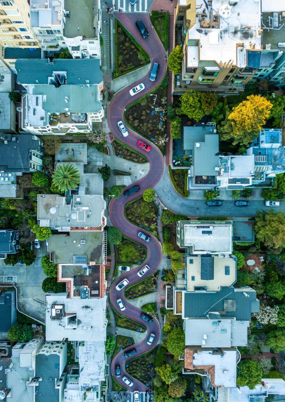 Gratis Poster download Lombard Street