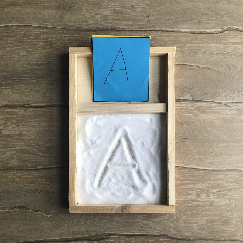 Lernhilfe Alphabet