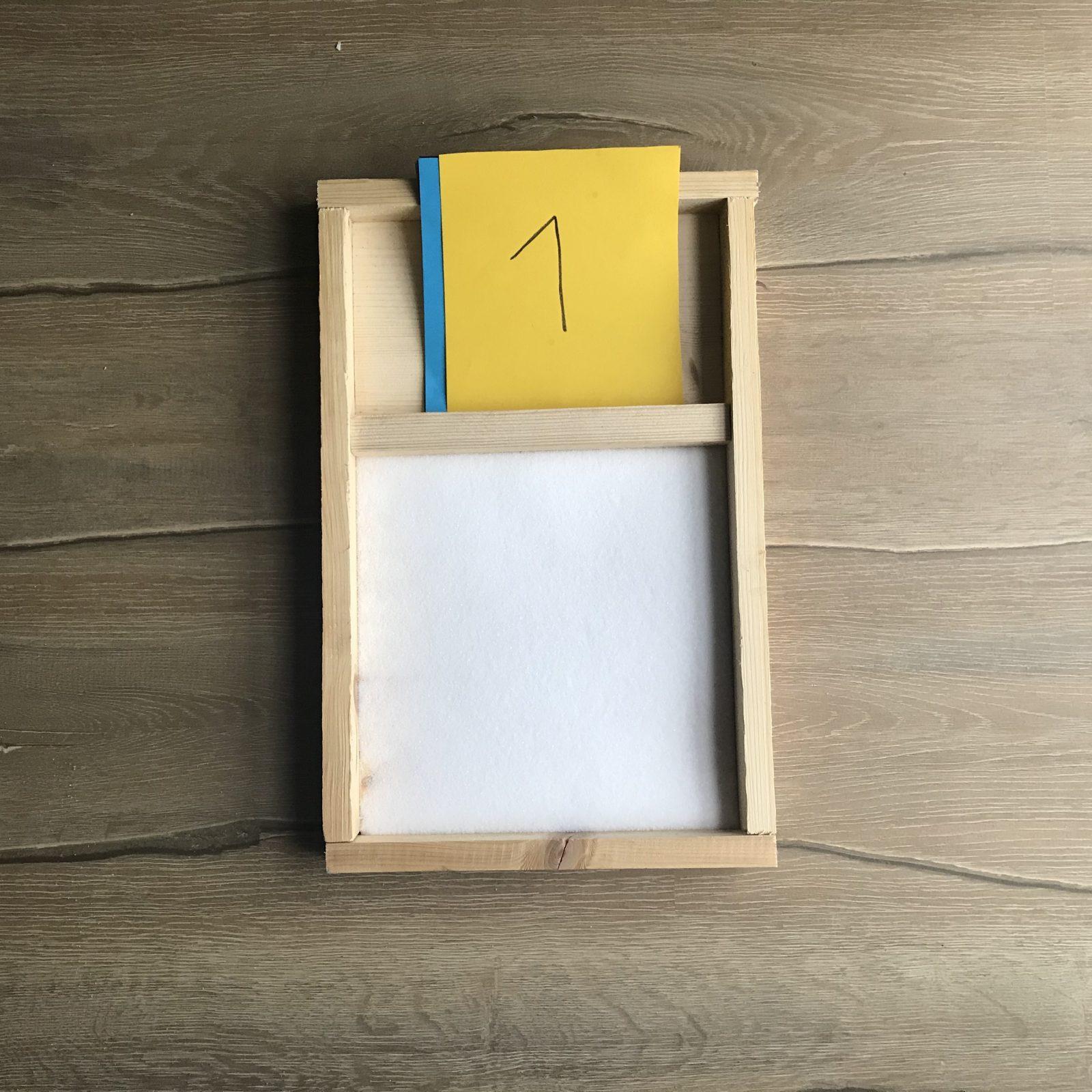 Lernhilfe Alphabet und Zahlen
