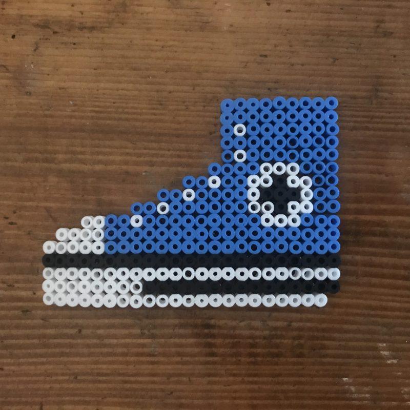 Bügelperlen Converse