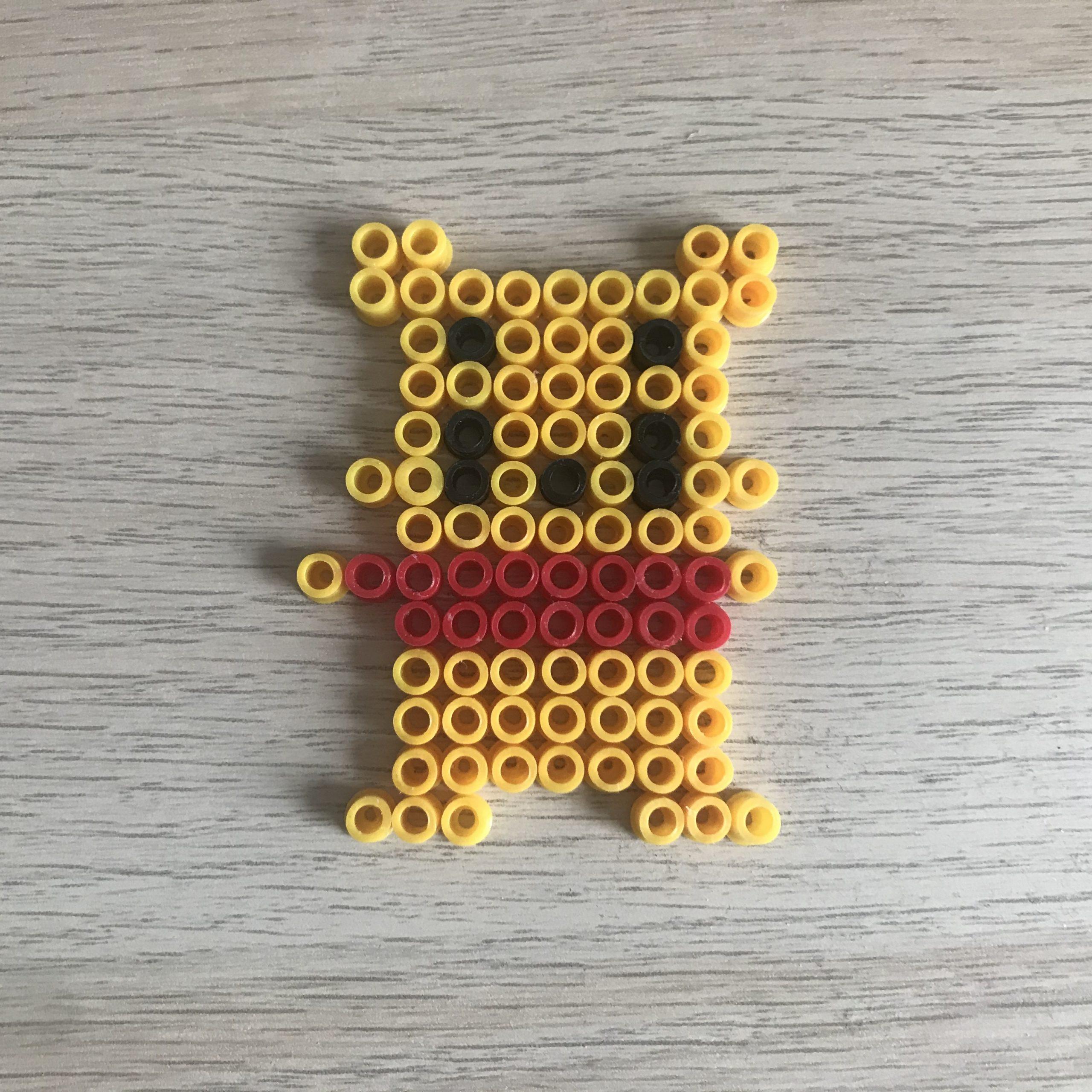 Bügelperlen Winnie Pooh