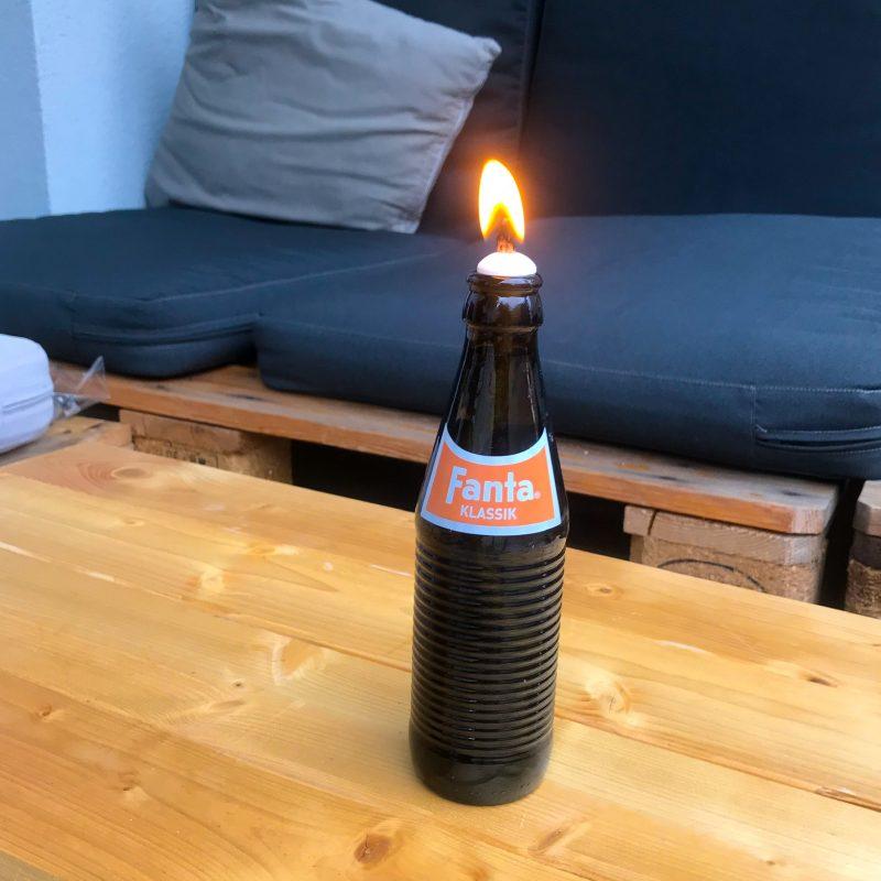 Öllampe selbstgemacht