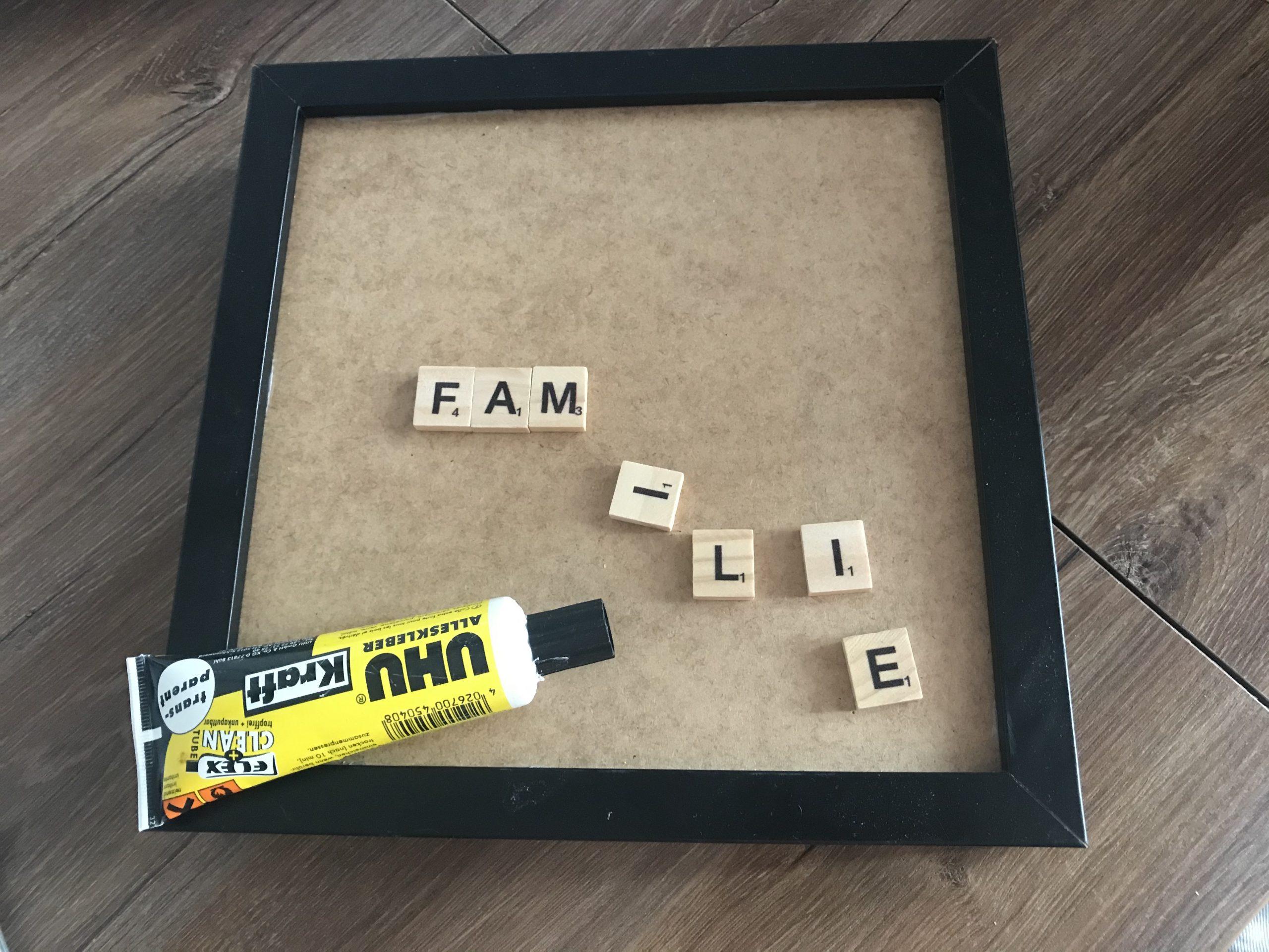 Scrabble Namen Bild