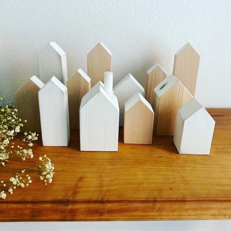 Holzhäuser basteln